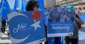 """ABD'den  9 Çinli Şirkete """"Doğu Türkistan"""" Yaptırımı"""
