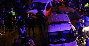 Ankara'da Polis Uygulama Noktasına araç daldı!.. 5'i polis 6 yaralı