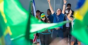 Brezilya lideri Bolsonaro, koronavirüs önlemleri karşıtı gösteriye katıldı