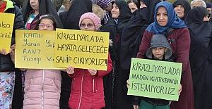 Bursa / Yenişehir'de atık barajı çalışmalarını yöre halkı istemiyor