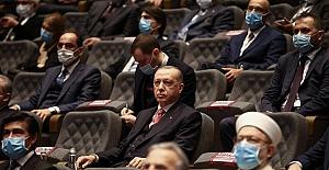 """Cumhurbaşkanı Erdoğan: """"Yassıada'da yapılan yargılama değil, hukuk cinayetiydi"""""""