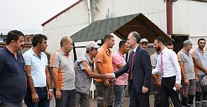 İnegöl'de Başkan Alper Taban'dan 1 Mayıs Emek Ve Dayanışma Günü Kutlaması