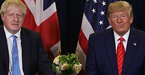 Johnson ile Trump, Kovid-19 aşısını görüştü