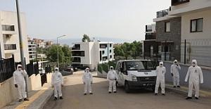 Mudanya rekora koşuyor: 30 Günde 6 Bin 696 Site ve Apartman İlaçlandı