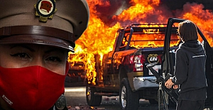 ABD'nin ardından Meksika'da karıştı! Sokaklar ateşe verildi