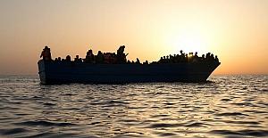 Akdeniz'de sığınmacıları taşıyan bot battı: 34 kişi hayatını kaybetti