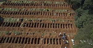 Brezilya, en çok ölümün görüldüğü ikinci ülke oldu