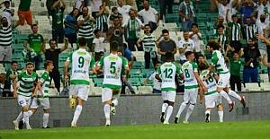 Bursaspor golleri son anlarda atıyor!