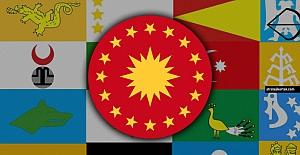 Cumhurbaşkanlığı Forsundaki 16 Türk Devleti