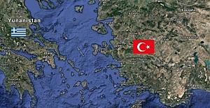 Ege Denizi'nde Silahlandırılan Adaların Haritası