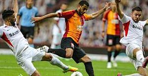 Galatasaray,GaziantepFK ile 3-3 berabere kaldı