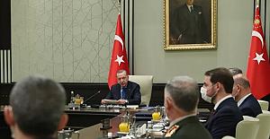 """MGK: """"Libya'da meşru hükümete verilen askeri danışmanlık hizmeti sürecek"""""""