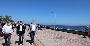 Mudanya Belediyesi Tirilye, Eşkel ve Eğerce sahillerinde