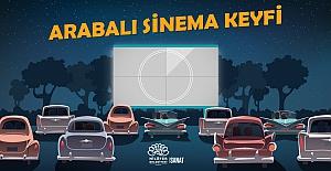 Nilüfer'de arabalı sinema keyfi başlıyor