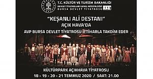 """Açık Hava Tiyatrosu'nda """"Keşanlı Ali Destanı"""""""