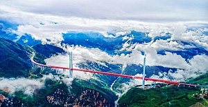 Dünyada 20 bin köprüye sahip tek eyalet: Guizhou