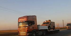 Irak'ta ABD ordusuna ait askeri araç ve malzemeleri taşıyan 3 TIR ateşe verildi