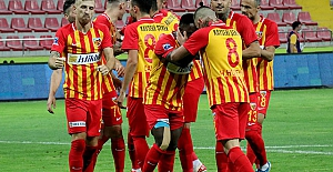 Kayserispor kendi sahasında Beşiktaş'ı 3-1 mağlup etti