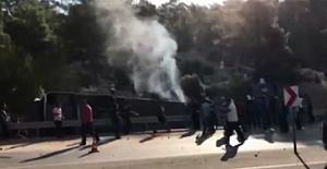 Kıbrıs'a gidecek askerleri taşıyan otobüs devrildi: 4 şehit, 10 yaralı