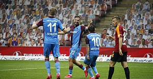 Trabzonspor T. Telekom Stadında fırtına gibi esti.. Galatasaray: 1 - Trabzonspor: 3
