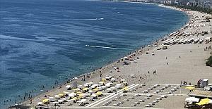 Antalya, 31 ülkeden yaklaşık 850 bin misafir ağırladı