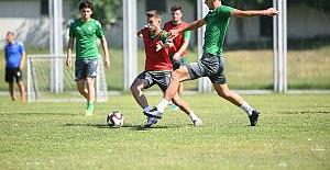 Bursaspor sezon hazırlıklarını sürdürüyor