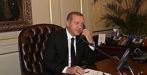 Cumhurbaşkanı Erdoğan'ın, dağlarda görevli Askerlere telefonla bayram mesajı