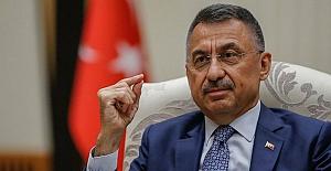"""Cumhurbaşkanı Yardımcısı Fuat Oktay: """"Yunanistan'ın kara sularını 12 mile çıkarmak istemesi savaş sebebidir"""""""