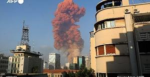 Lübnan'da şiddetli patlama!..