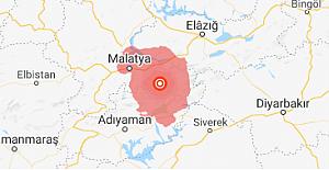 Malatya'da 5.2'lik deprem!