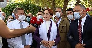 """Meral Akşener: """"Erdoğan'ın çağrısı 'parlamenter sisteme geçiş çağrısı' ise destek veririz"""""""