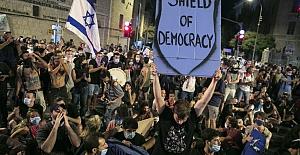 Netanyahu aleyhine dünya çapında gösteri
