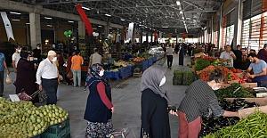 Osmangazi'de semt pazarları modern ortamlara kavuşuyor