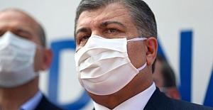 """Sağlık Bakanı Koca, """"maske, mesafe ve temizlik"""" konularında uyarıda bulundu"""
