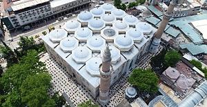 74 Gün sonra Ulu Cami'de tekrar Cuma Namazı heyecanı yaşandı