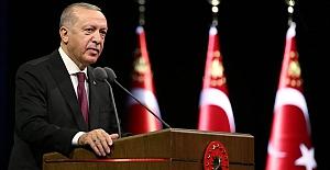 """Erdoğan: """"Türkiye'nin şantaja ve haydutluğa boyun eğmeyeceği artık tüm muhataplar tarafından anlaşılmıştır"""""""