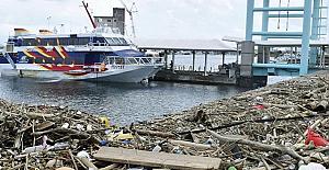 Japonya'nın güneybatısını vuran Haişen tayfununda 2 ölü, 100'den fazla yaralı