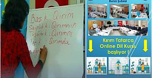 """Kırım Derneği Bursa Şubesi'nden Duyuru: """"Kırım Tatarca Dersleri Online Yapılacak"""