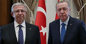 Bu ankette Mansur Yavaş, Tayyip Erdoğan'a fark attı