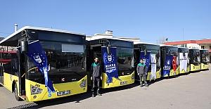 BURULAŞ'ın araç filosuna 85 yeni halk otobüsü daha ekleniyor