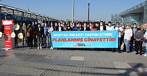 """CHP'li Gençler: """" Türk milleti sizden askıda ekmek değil, hakkını istiyor!.."""""""