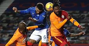 Glasgow Rangers'a 2-1 yenilen Galatasaray Avrupa'ya veda etti
