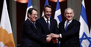 İsrail, Yunanistan ve Güney Kıbrıs'tan üçlü işbirliği