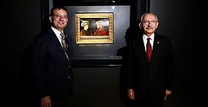 """Kılıçdaroğlu: """"Fatih Sultan Mehmet tablosu bu toprakların hakkıdır.."""""""