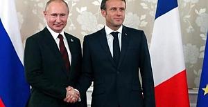 Macron'dan Türkiye'ye Ağır İftira