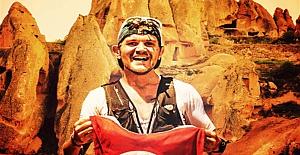 Mehmet Soytürk'ten Kapadokya'da ultra rekor denemesi
