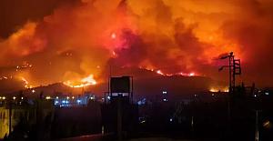 PKK'lıların ateşe verdiği Hatay'da yangını soğutma çalışmaları sürüyor