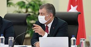 """Sağlık Bakanı Koca: """"15 Ekim'den itibaren korona virüsle ilgili bütün hasta sayısı rakamlarını açıklayacağız"""""""