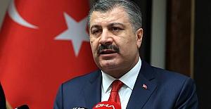 """Sağlık Bakanı Koca Bursa'dan seslendi: """"Bursa'da vaka sayısı son bir ayda 3 kat arttı.."""""""