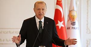 """Erdoğan: """"Kanal İstanbul Projesi'nde ihale aşamasına gelindi"""""""